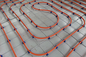 Is the insulit underlay compatible with an underfloor heating system?