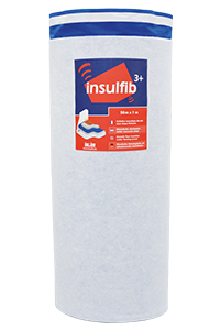 insulFib 3+ thin acoustic underlay for floating screed