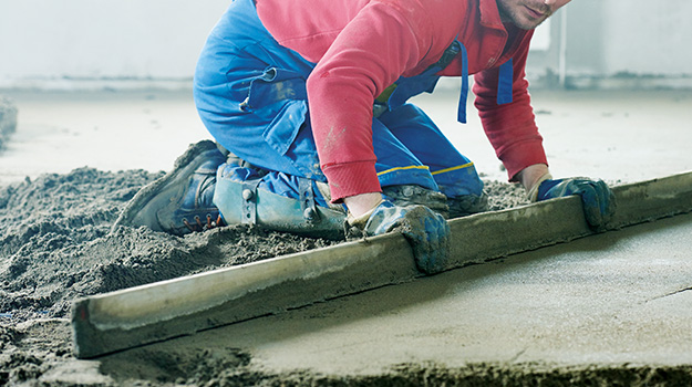 Underlays for screed overview