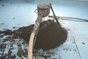 What thickness for a floating screed above an insulit underlay ?